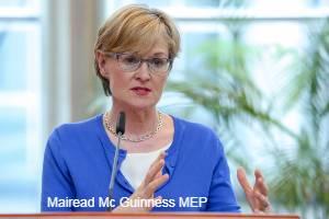 Mairead McGuinness MEP for ET