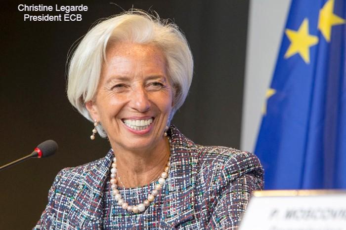 Christine Legarde ECB